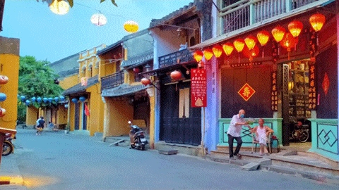 Hoi An pendant l'isolement social