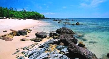 Ha My Beach In Vietnam