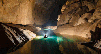 Son Doong Cave in Vietnam is threatened by the cable cars project