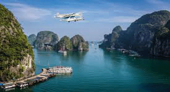 Seaplane in Halong Bay has its new line