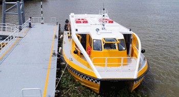 Saigon river bus operates officially in Ho Chi Minh City