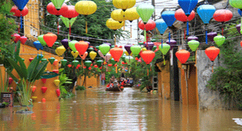 Flood in Hoi An in 2017