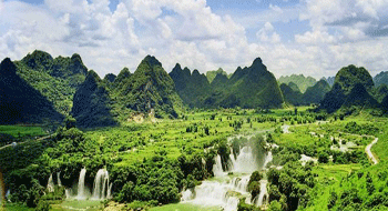 Cao Bang in Vietnam