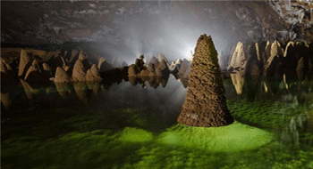 Quang Binh in Vietnam opens the caves for tourism