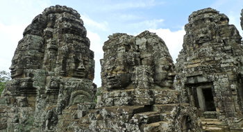 Angkor Thom Temple in Cambodia
