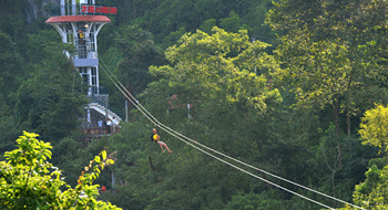 Quang Binh in Vietnam will have the longest zip line in the world