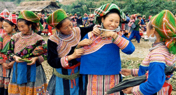 Bac Ha market in Vietnam - A typical cultural space