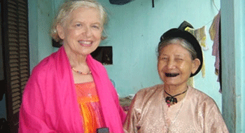 Tet Holiday in Vietnam with foreign women artists