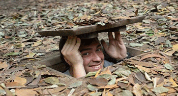 Cu Chi tunnels in Vietnam in the eyes of foreigners