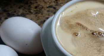 Hanoi egg coffee – Vietnamese typical drink