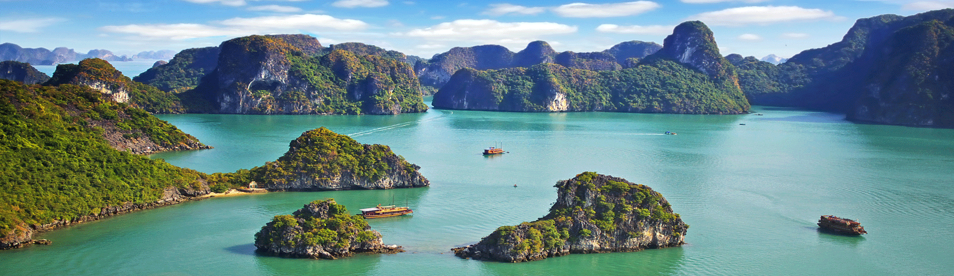 Halong Bay in Vietnam - World Natural Heritage and New Seven Natural Wonder